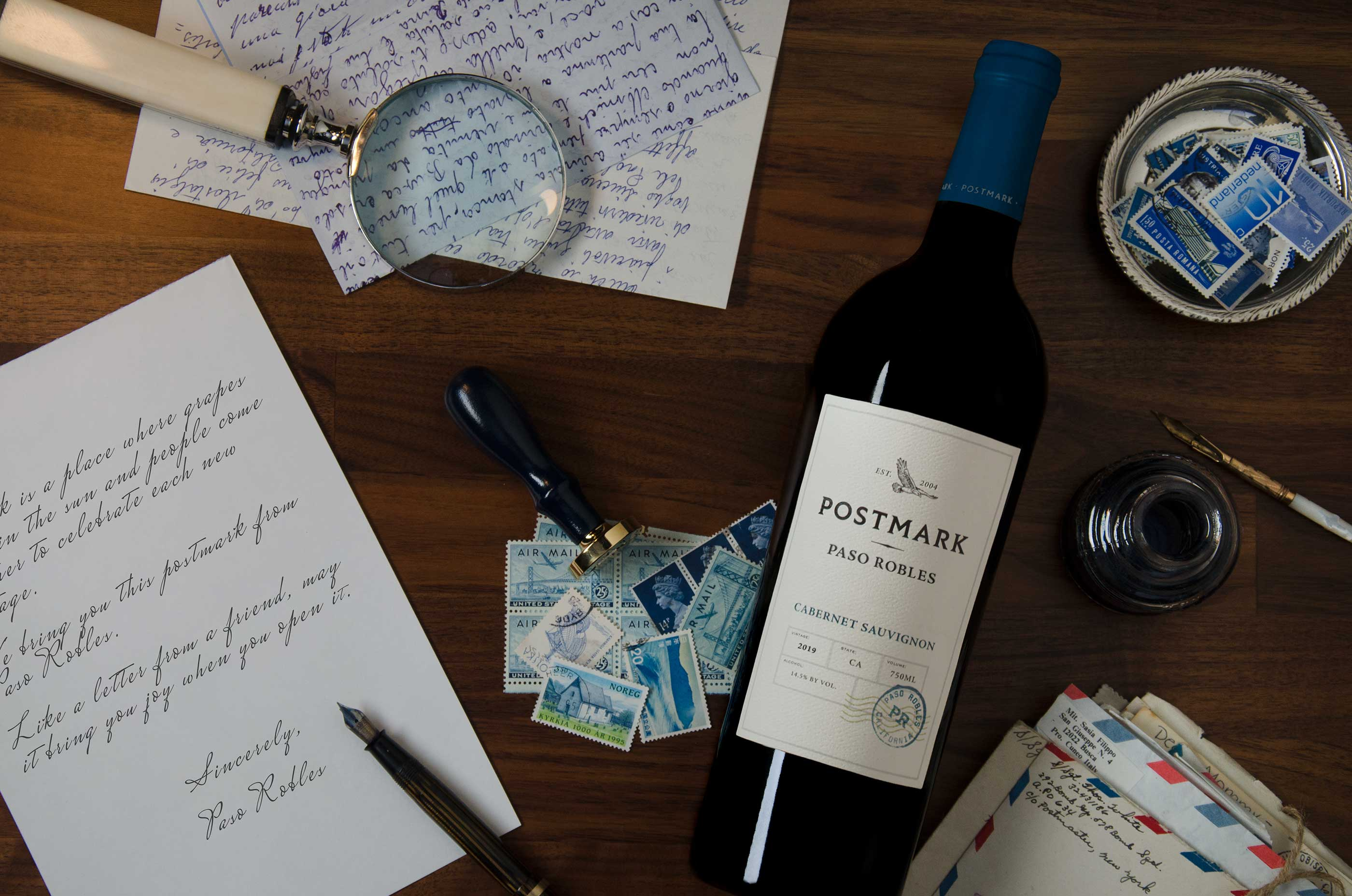 The Official Postmark Wines, Extraordinary Cabernet Sauvignon